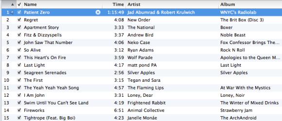 run playlist