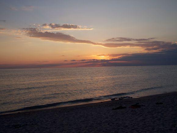 Lake Michigan sunset, July 2012