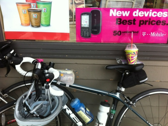 one of those stops was for a slurpee.