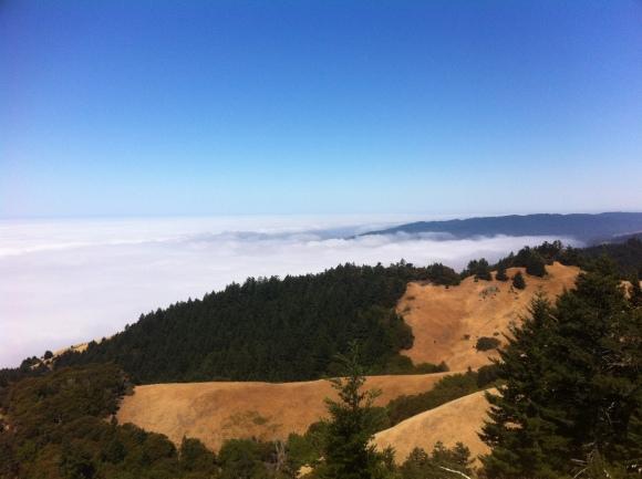 Clouds at Mt. Tam